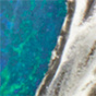 Mop tusk / blue opal