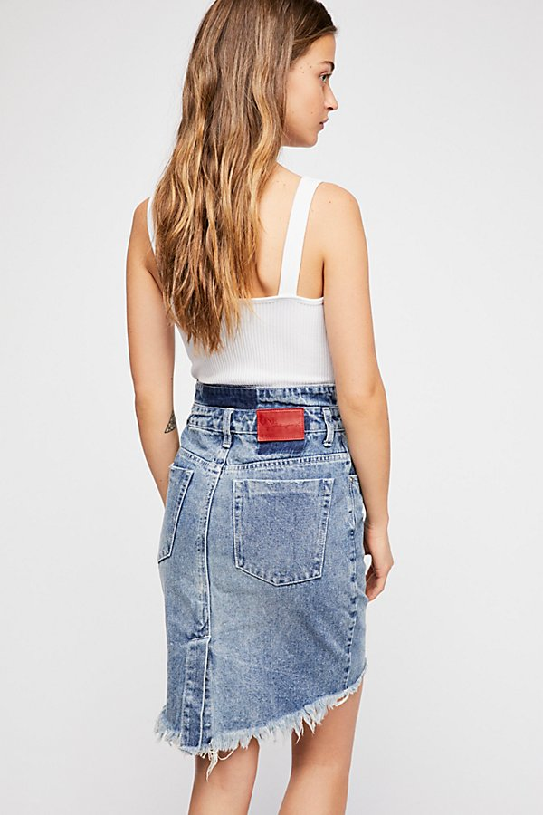 Slide View 2: OneTeaspoon 2020 Denim Pencil Skirt