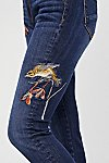 Thumbnail View 3: Marilyn Embroidered Skinny Jeans