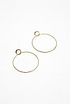 Thumbnail View 1: Double Trouble Hoop Earrings