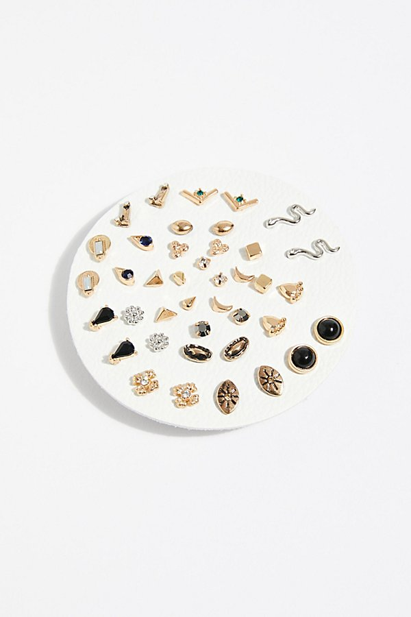 Slide View 1: Teeny Tiny Mega Stud Earring Set