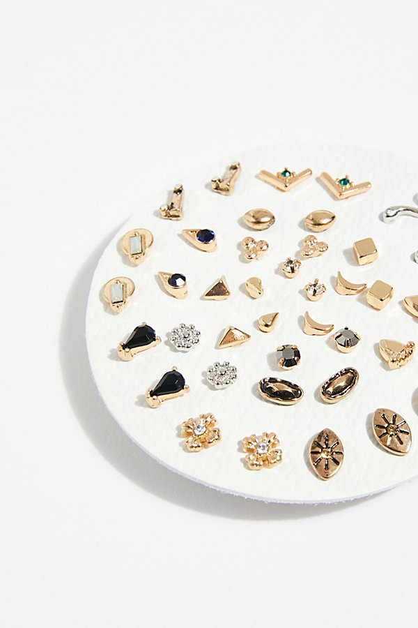 Slide View 2: Teeny Tiny Mega Stud Earring Set