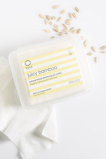 Kaia Naturals Juicy Bamboo Facial Cleansing Cloths