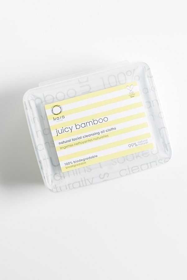 Slide View 3: Kaia Naturals Juicy Bamboo Facial Cleansing Cloths