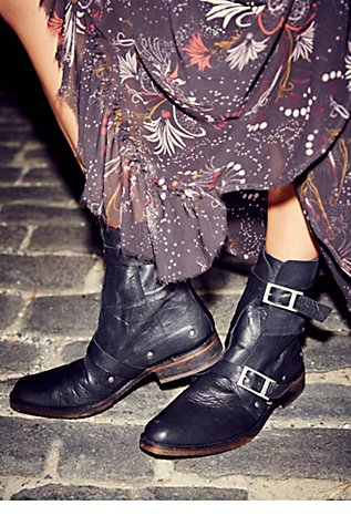 Free People Outsiders Moto Boot