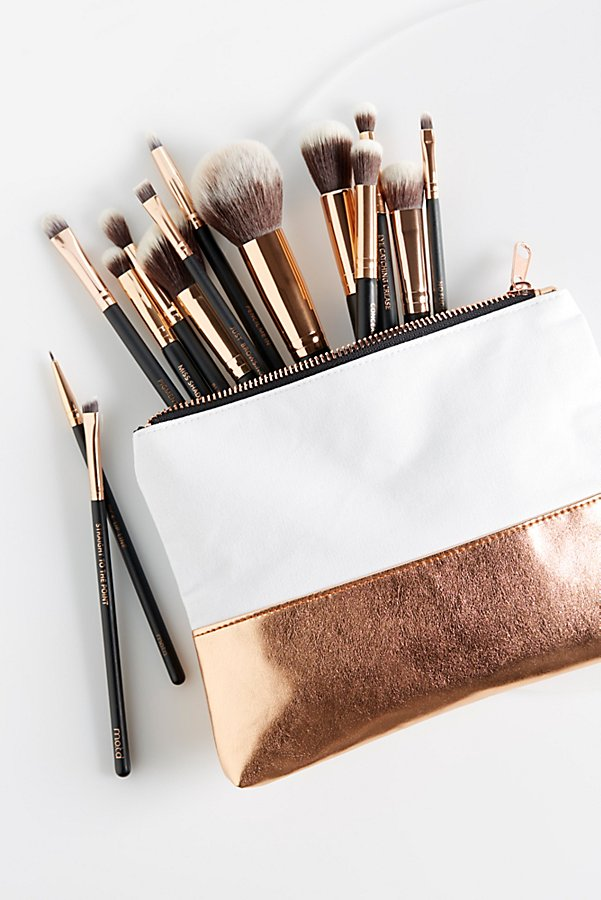 Slide View 2: M.O.T.D Cosmetics Lux Vegan Complete Brush Set