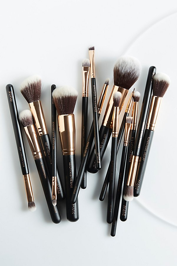 Slide View 3: M.O.T.D Cosmetics Lux Vegan Complete Brush Set