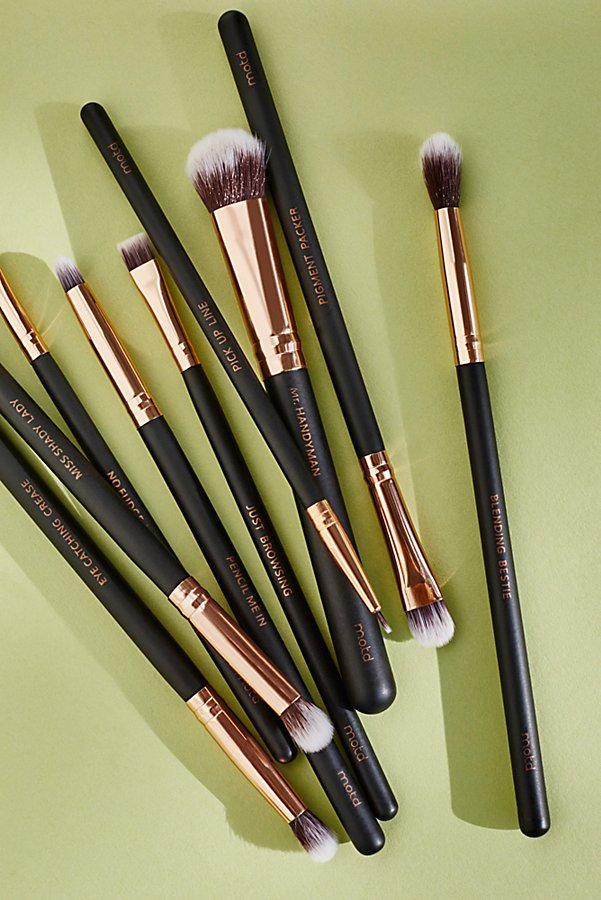 Slide View 5: Vegan Eye Makeup Brush Set