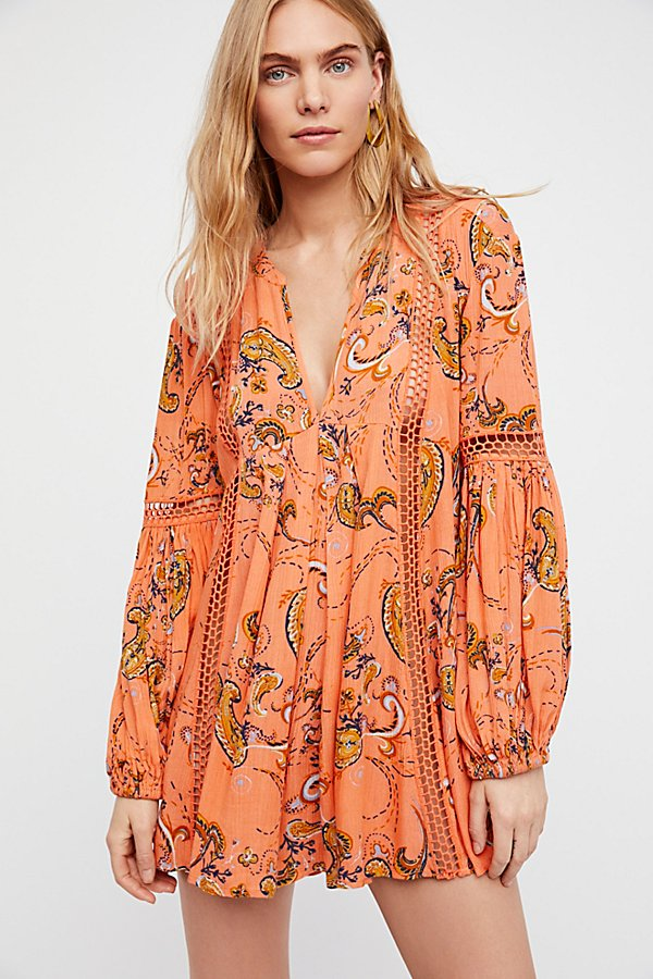 Slide View 1: Just the Two of Us Paisley Printed Tunic
