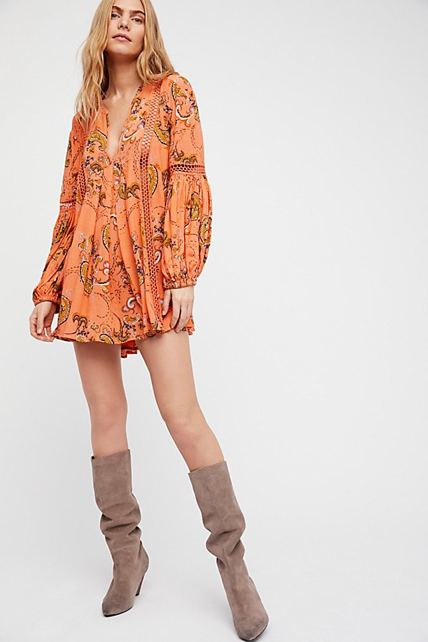Slide View 4: Just the Two of Us Paisley Printed Tunic