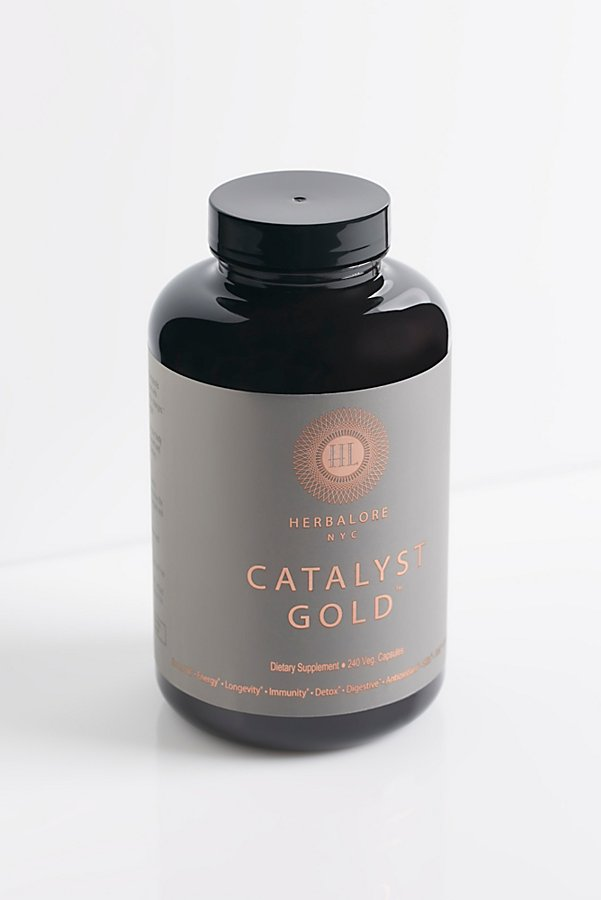 Slide View 1: Herbalore Catalyst Gold Capsules