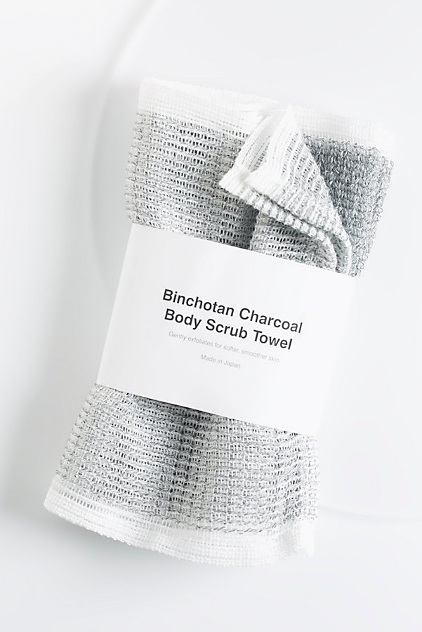 Slide View 1: Morihata Binchotan Charcoal Body Scrub Towel