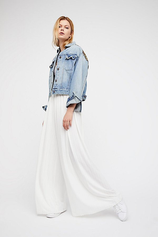 Slide View 1: Love Me Wide Leg Trousers