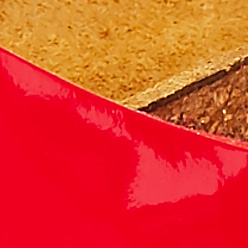 Tango red patent