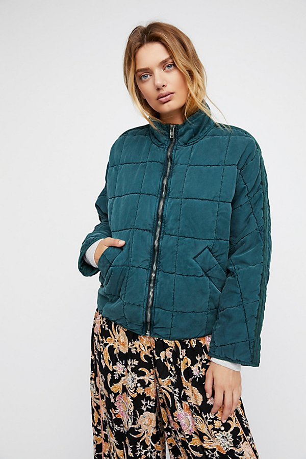 Slide View 3: Dolman Quilted Jacket