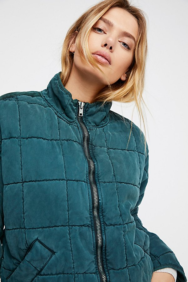 Slide View 4: Dolman Quilted Jacket