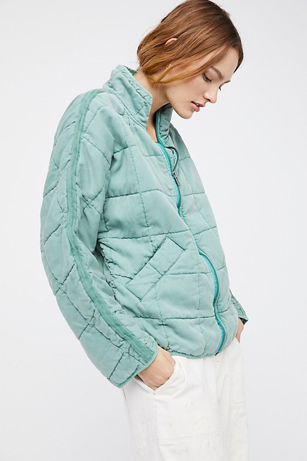 Slide View 1: Dolman Quilted Jacket