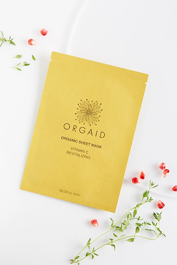 Slide View 1: ORGAID Vitamin C Revitalizing Organic Mask