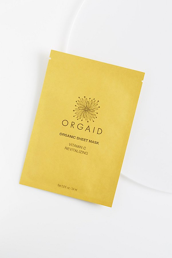 Slide View 2: ORGAID Vitamin C Revitalizing Organic Mask