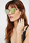 Thumbnail View 1: Forget Me Not Aviator Sunglasses