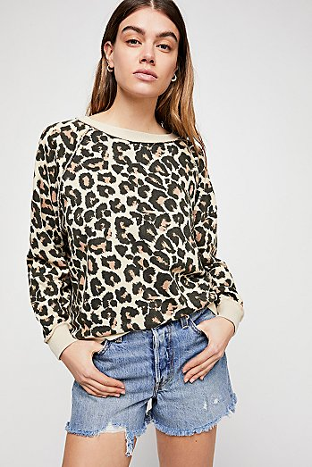 Go On Get Floral Pullover