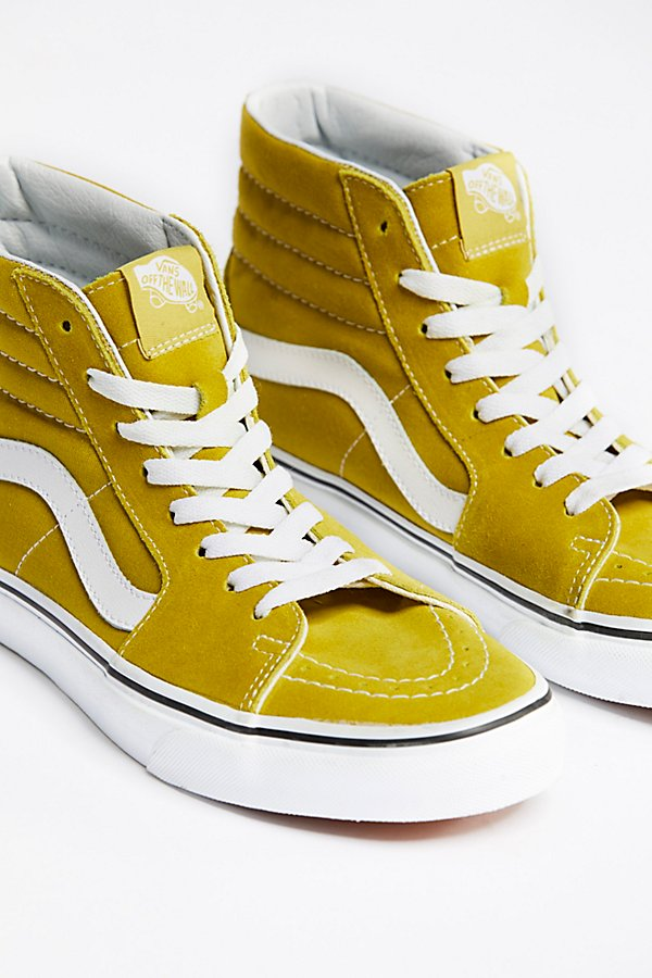 Slide View 3: Vans Sk8-Hi Top Trainer
