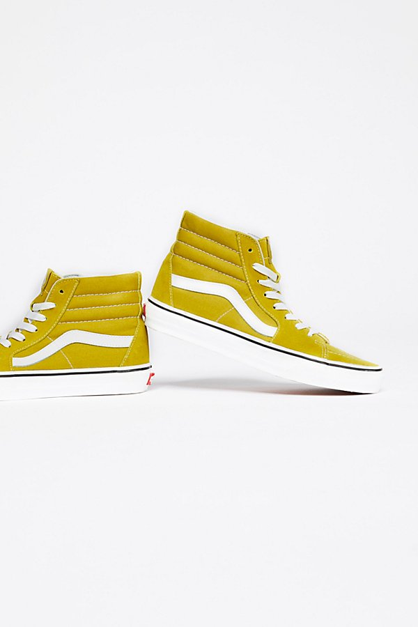 Slide View 4: Vans Sk8-Hi Top Trainer
