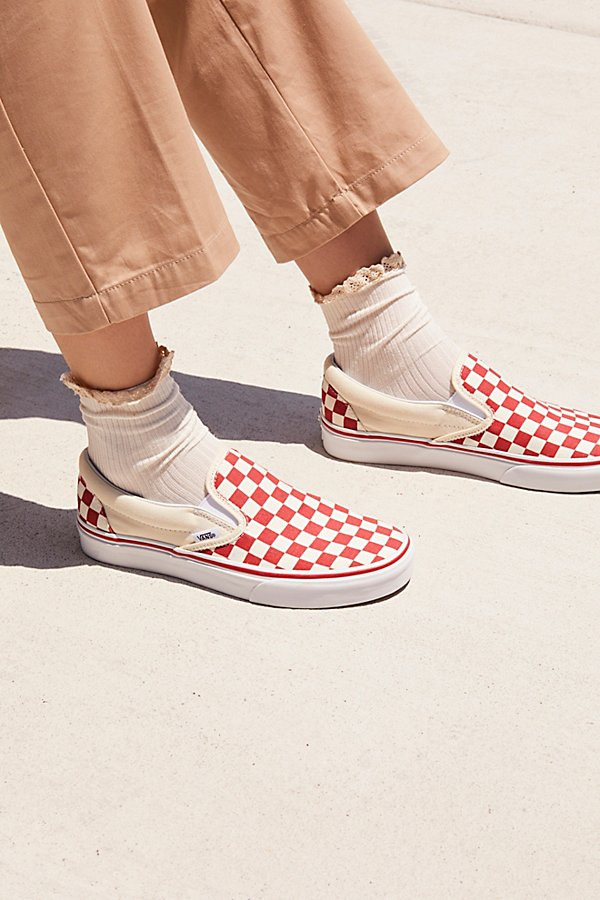 Slide View 6: Classic Checkered Slip-On