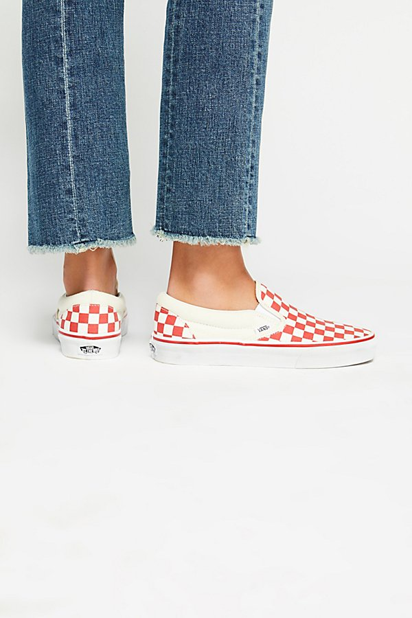 Slide View 5: Classic Checkered Slip-On