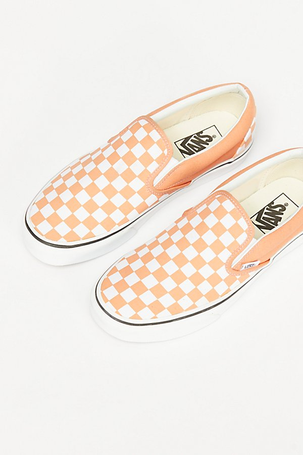 Slide View 3: Classic Checkered Slip-On