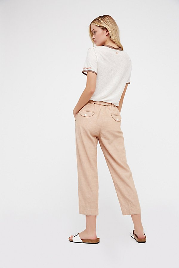Slide View 2: Everyday Chambray Pull-On Trousers
