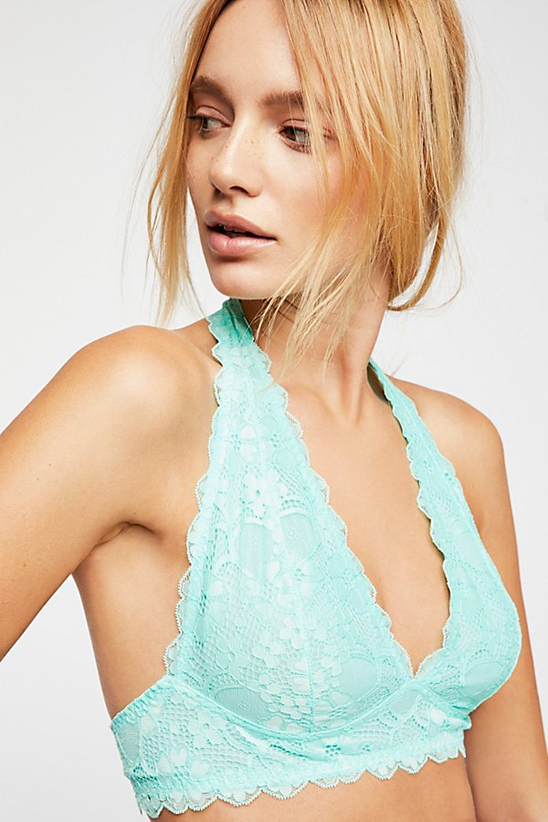 Slide View 1: Galloon Lace Halter Bra