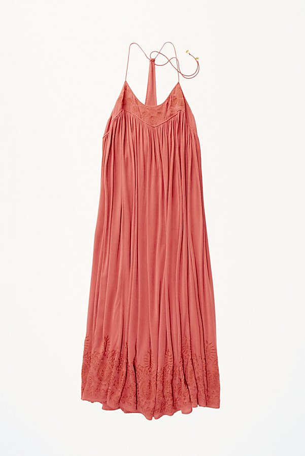 Slide View 5: Embroidered Elaine Maxi Slip