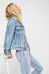 Thumbnail View 1: Levi's Ex-Boyfriend Trucker Denim Jacket