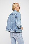 Thumbnail View 2: Levi's Ex-Boyfriend Trucker Denim Jacket
