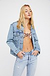 Thumbnail View 3: Levi's Ex-Boyfriend Trucker Denim Jacket