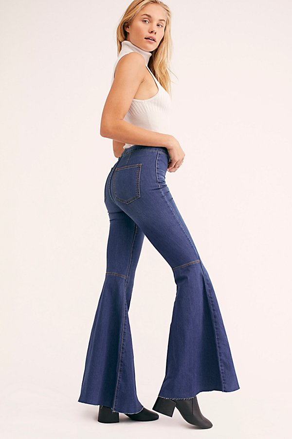 Slide View 4: Just Float On Flare Jeans
