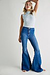Thumbnail View 1: Just Float On Flare Jeans