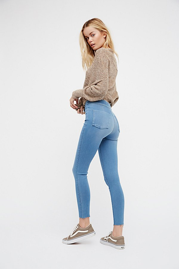 Slide View 1: Easy Goes It Denim Legging