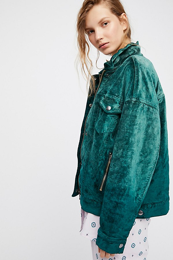 Velvet Trucker Jacket by Free People