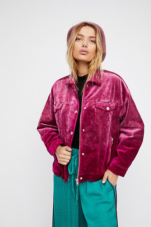 Velvet Trucker Jacket by Free People