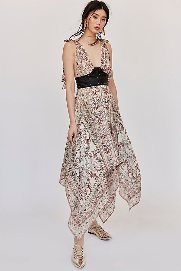 Slide View 4: You For Me Printed Maxi Dress