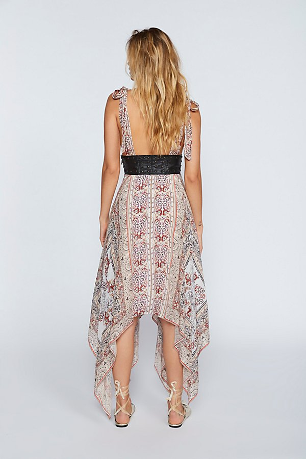 Slide View 2: You For Me Printed Maxi Dress