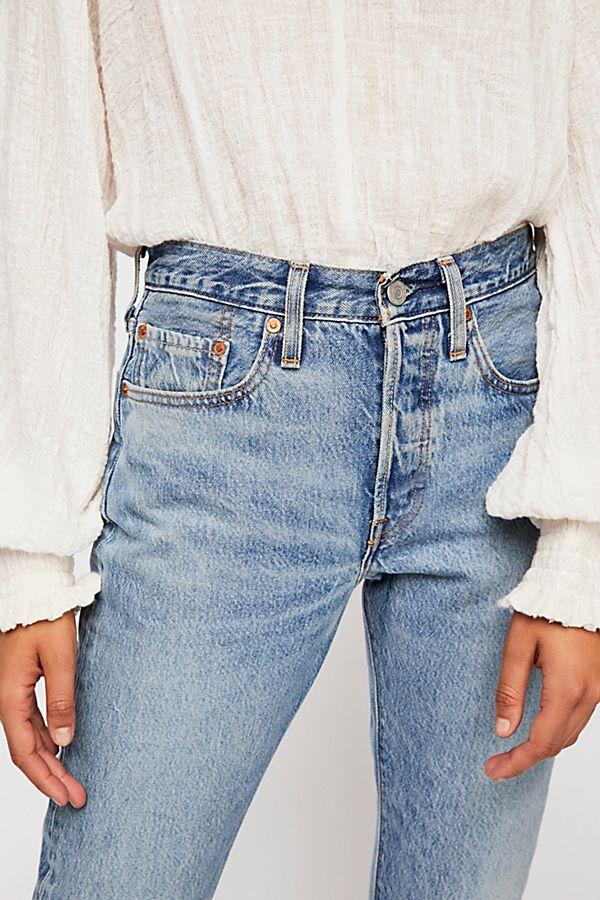 Levis 501 Skinny Jeans Free People