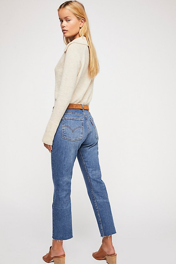 Slide View 2: Levi's Wedgie Straight Jeans