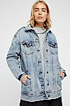 Thumbnail View 4: Long Denim Jacket