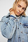 Thumbnail View 5: Long Denim Jacket