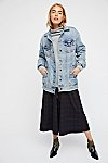 Thumbnail View 6: Long Denim Jacket