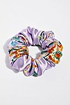 Thumbnail View 1: Silk Brocade Scrunchie