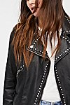 Thumbnail View 4: Studded Vegan Moto Jacket